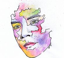 Harry Styles Watercolor by nyodo