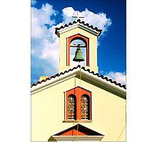 Greek Church Photographic Print