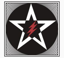 Revolutionary Pentacle Series: Lightning Bolt Star by Zehda