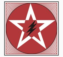 Revolutionary Pentacle Series: Lightning Bolt Star Two by Zehda
