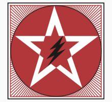 Revolutionary Pentacle Series: Lightning Bolt Star Two by Zehda