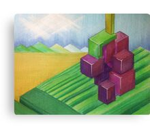 Red Wine Grapes Canvas Print