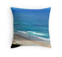 Blue Seas Throw Pillow