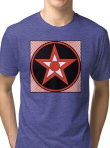 Revolutionary Pentacle Series: Bulls Eye Star Tri-blend T-Shirt