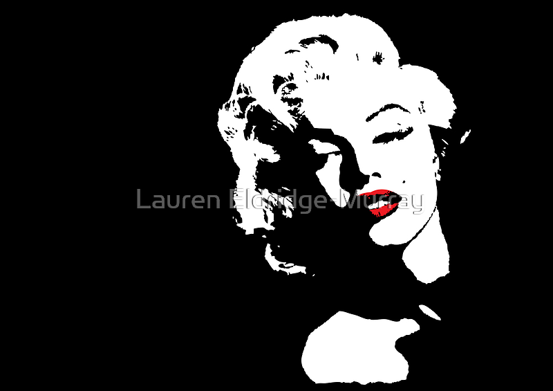 Marilyn Monroe by Lauren Eldridge-Murray
