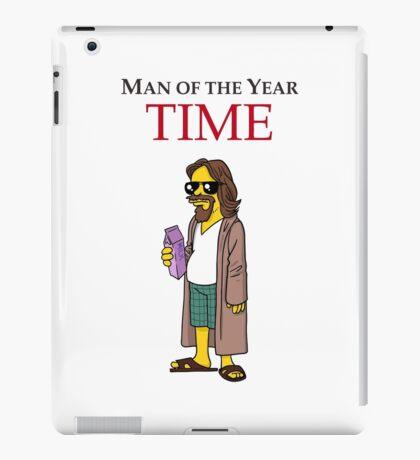 Dude of the year. iPad Case/Skin
