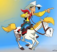 Lucky Luke by Nornberg77