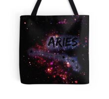 Aries Constellation Starry Tote Bag