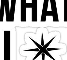 Heroic Music - Hear What I Hear (Black) Sticker