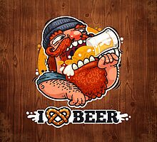 Man Loves Beer by Voysla