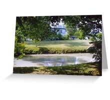 Kentucky Horse Park Pond Greeting Card