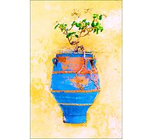 Colours of Greece Photographic Print