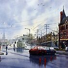 Clifton Hill, Melbourne by Joe Cartwright