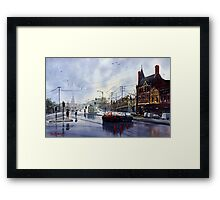 Clifton Hill, Melbourne Framed Print