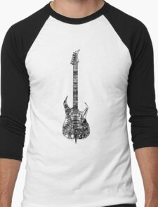 n.y.c guitar Men's Baseball ¾ T-Shirt