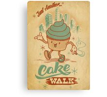 Just Another Cake Walk Canvas Print