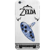 Zelda legend - Ocarina doodle iPhone Case/Skin