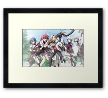 HighSchool DxD - It's my Issei! Framed Print