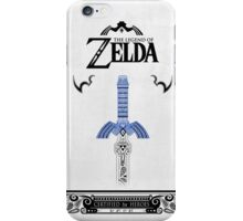 Zelda legend - link Sword doodle iPhone Case/Skin