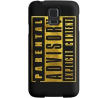 WARNING - GOLD EDITION Samsung Galaxy Case/Skin