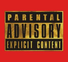 Explicit Content. GOLD VERSION Kids Clothes
