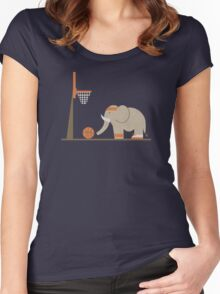 Elephants Can't Jump Women's Fitted Scoop T-Shirt