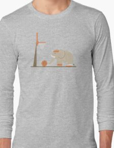 Elephants Can't Jump Long Sleeve T-Shirt