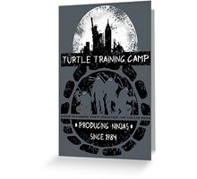Turtle Training Camp Greeting Card