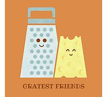 Cheesy Friendship Photographic Print
