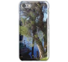 Houseboats on the Pinjarra Murray iPhone Case/Skin