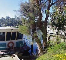 Houseboats on the Pinjarra Murray by lezvee
