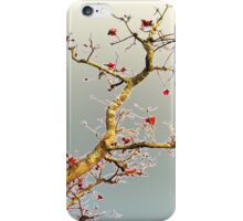 Oriental Style ~ Blooming Red iPhone Case/Skin