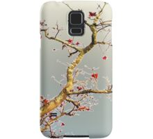 Oriental Style ~ Blooming Red Samsung Galaxy Case/Skin