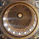 Dome, Basilica San Pietro, Rome by bevanimage