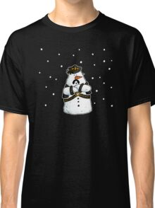 Leather daddy snow man Classic T-Shirt