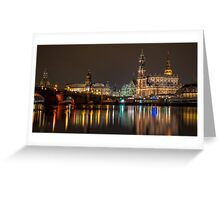 Dresden - The capital of Saxony, Germany (I) Greeting Card