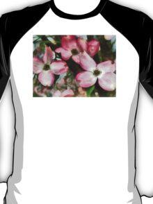 Pink Dogwood Closeup T-Shirt
