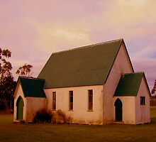 Swannanoah Church, NZ by John Brotheridge