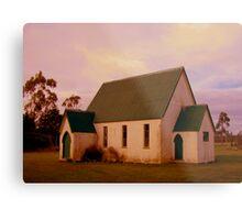 Swannanoah Church, NZ Metal Print