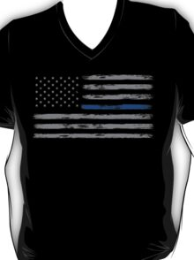 Blue Line (Gray) T-Shirt