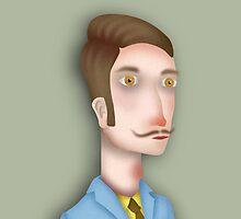 Man portrait by radioboy