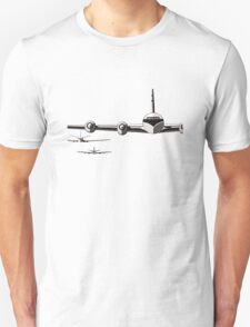 Vintage/Retro Plane/Aviation Art T-Shirt