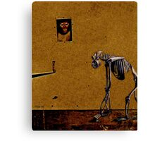 Me And My Monkey Canvas Print