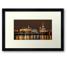 Dresden - The capital of Saxony, Germany (I) Framed Print