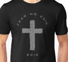 Fear No Evil - Cross (Gray) Unisex T-Shirt