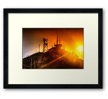 Castle Hill Sunset Framed Print