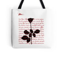 Red Violator I Tote Bag