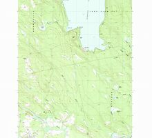 Maine USGS Historical Map Milo North 102753 1988 24000 by wetdryvac