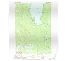 Maine USGS Historical Map Milo North 102753 1988 24000 Poster