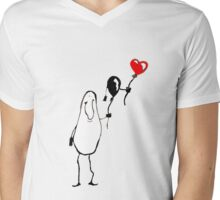 heart strings Mens V-Neck T-Shirt
